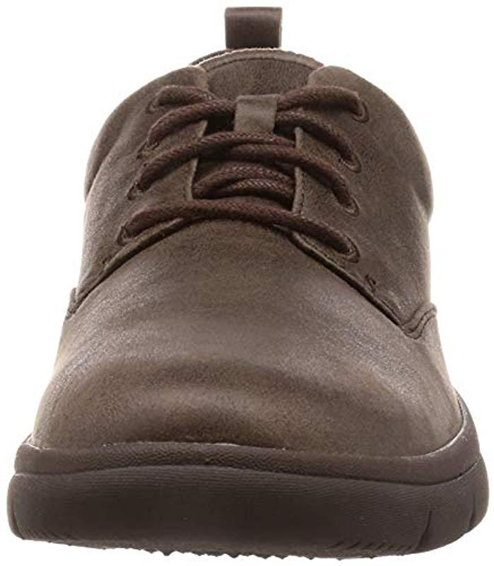 Tunsil Lane, Zapatos de Cordones Derby para Hombre Clarks de Tejido sintético de color Marrón para hombre