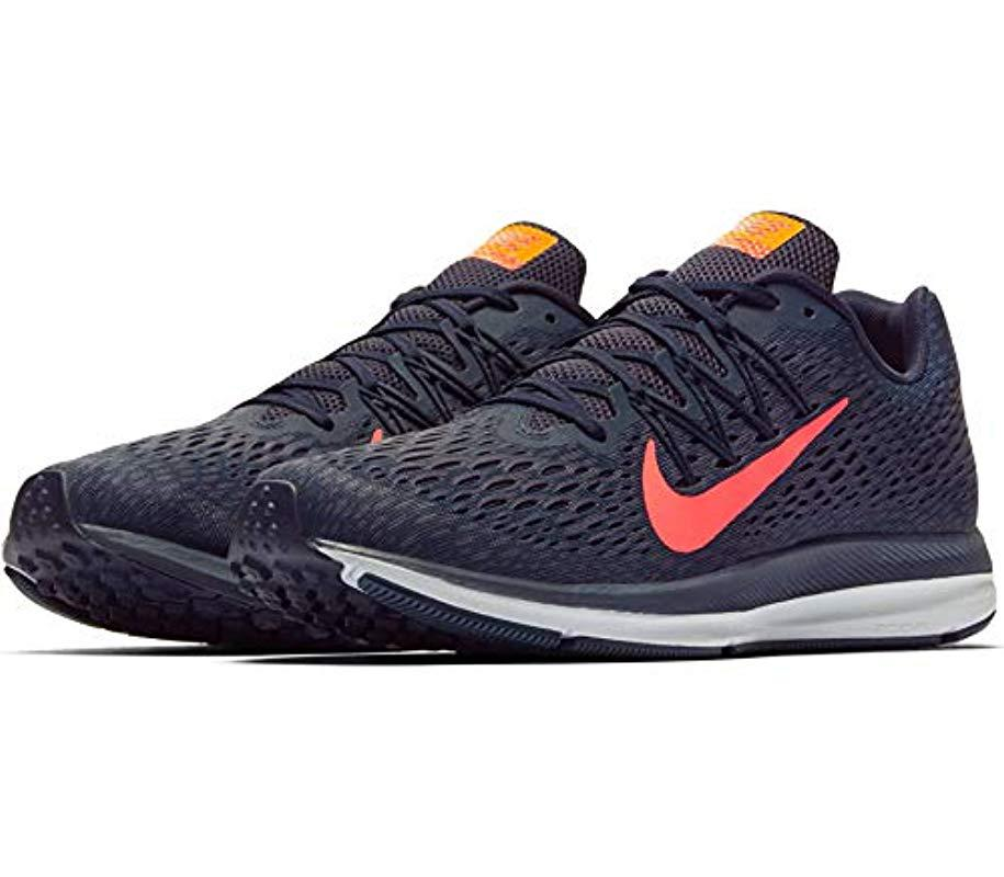 coupon code pre order sale usa online Zoom Winflo 5 Running Shoes, (blackened Blue/flash Crimson 402), 11 Uk