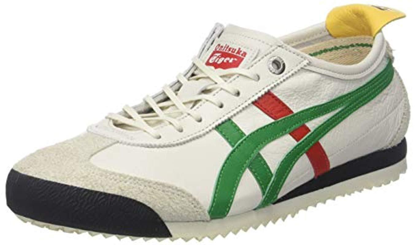 76bd730427f61 Asics Adults' Onitsuka Tiger Mexico 66 Sd Low-top Sneakers in Green ...