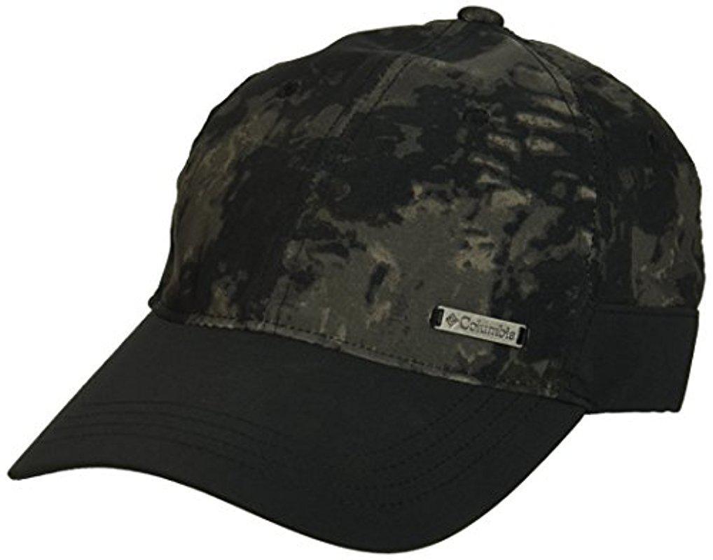 75d235e2 Columbia Emanating Light Printed Ball Cap in Black for Men - Lyst