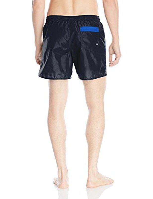 Superdry Originali Shorts Spiaggia Navy