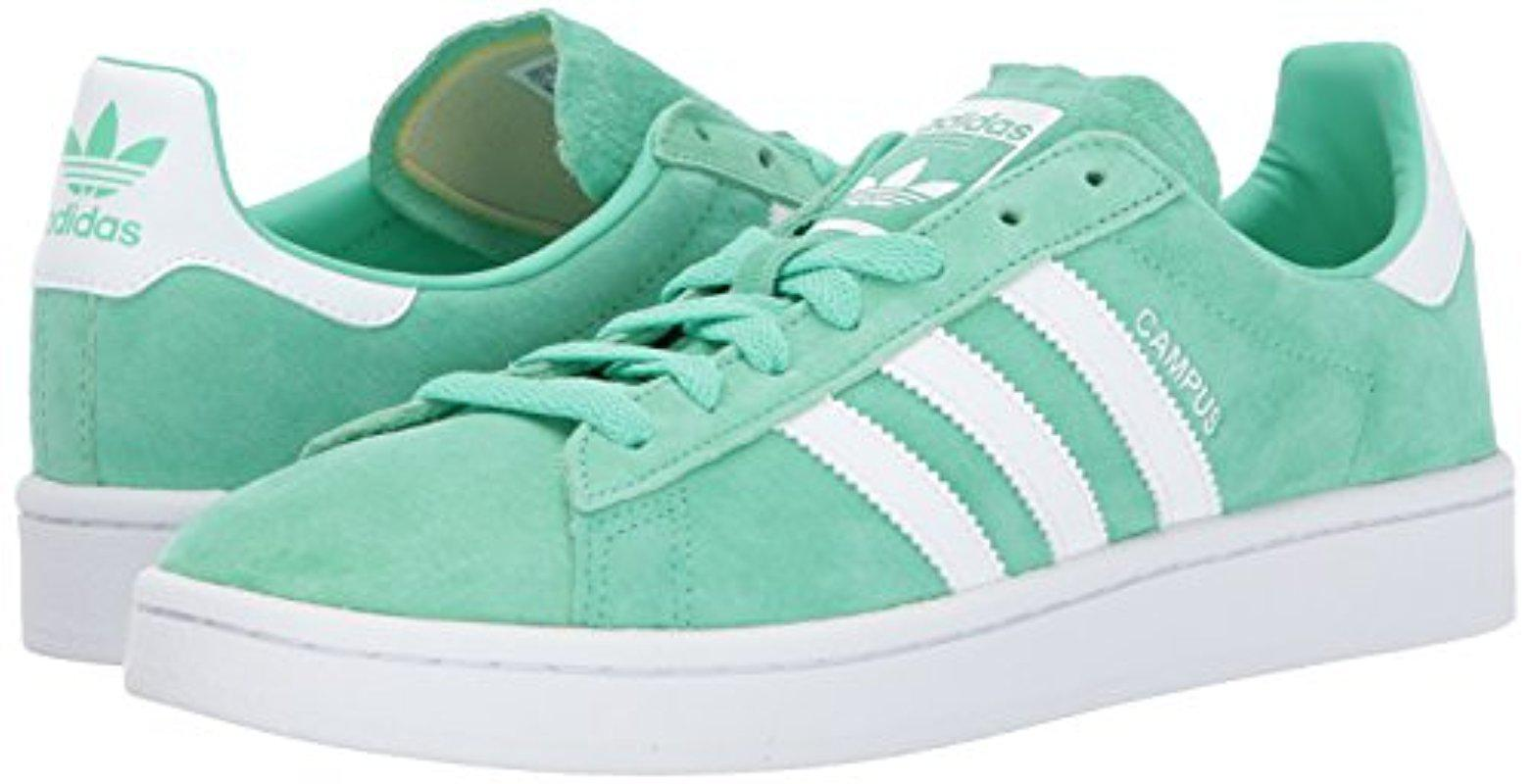 adidas Campus Sneakers in Green for Men