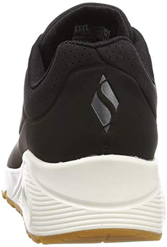 c2a30fdd1db2 Skechers - Black  s Uno -stand On Air Trainers - Lyst. View fullscreen