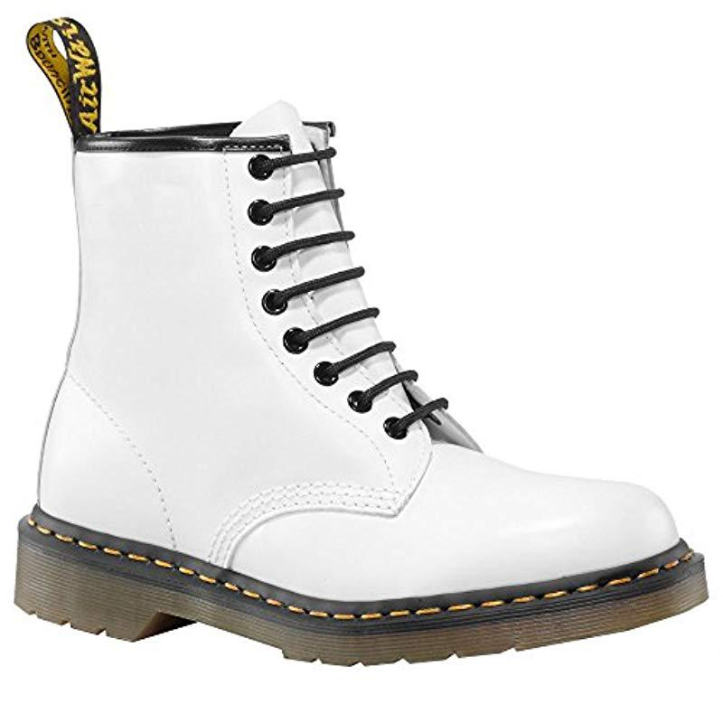 Dr. Martens Leather 1460 8-eye Boot W in White