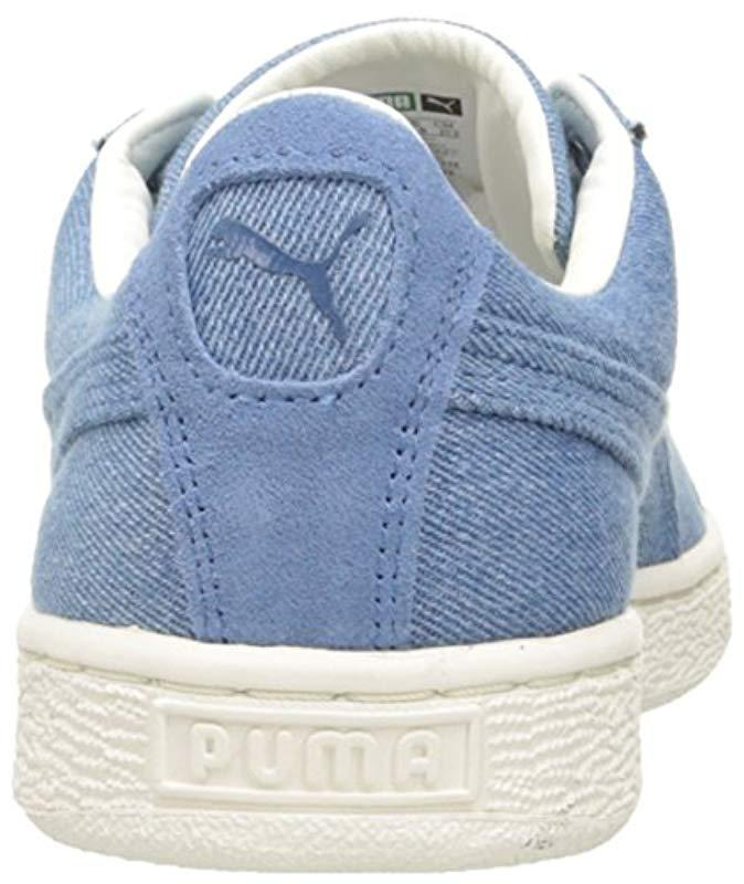 PUMA Basket Classic Denim Fashion Sneaker