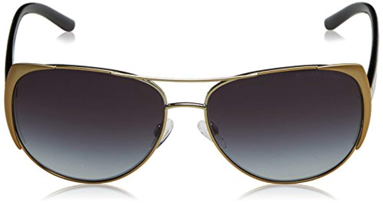 dac0a6823bb28 Michael Kors Sadie Sunglasses In Gold Gradient Grey Mk1005 115611 59 ...