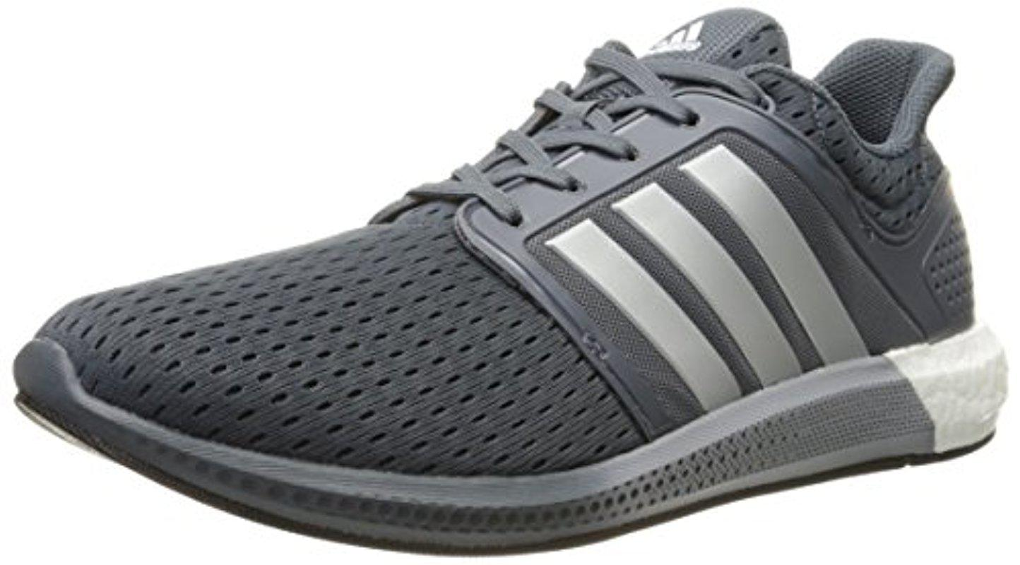 low cost 32ea8 f0430 adidas Performance Solar Boost M Running Shoe in Gray for Men - Lyst