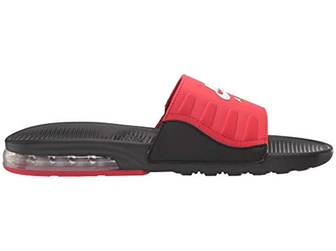 Air Max Camden Slide Sandals Nike pour homme en coloris Rouge - Lyst