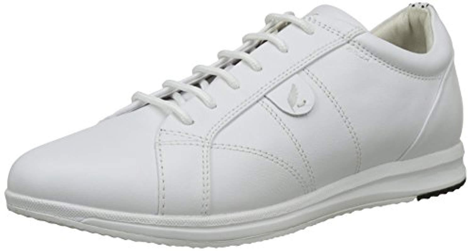 f7224f015eb7 Geox D Avery A Low-top Sneakers in White - Lyst