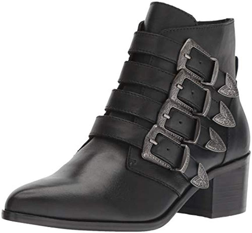 a722dbd7e18 Lyst - Steve Madden  s Billey Ankle Boots in Black
