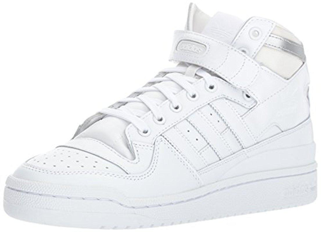 huge selection of edf6f d129e adidas Originals Shoes   Forum Mid Refined Sneakers, White white ...