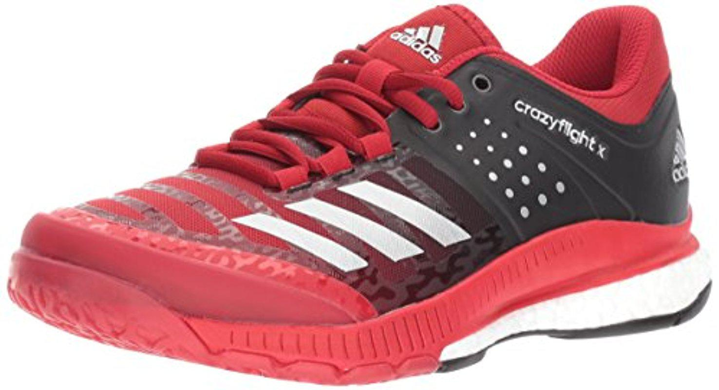 competitive price 52e20 46e7b Lyst - adidas Crazyflight X Volleyball Shoe in Red