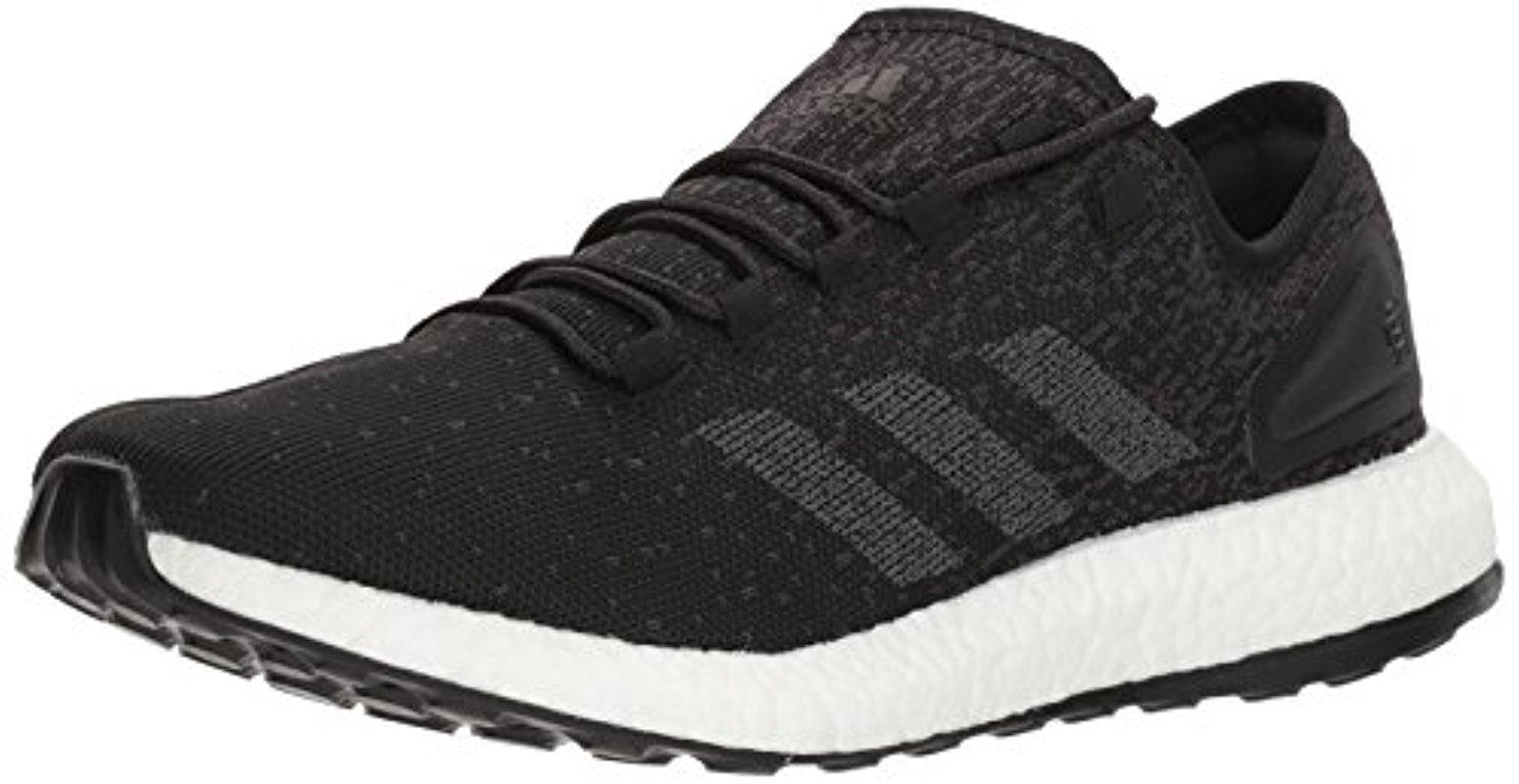 5b743790f62 Lyst - adidas Pureboost Reigning Champ M Running Shoe in Black for Men