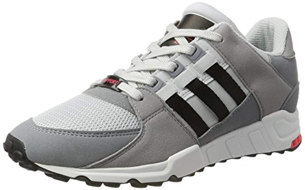release date: d4457 0099d adidas. Mens Gray Eqt Support Rf Low-top Trainers