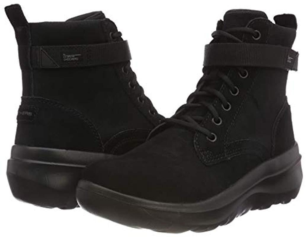 Damen Skyhigh Ultra Kurzschaft Stiefel in schwarz