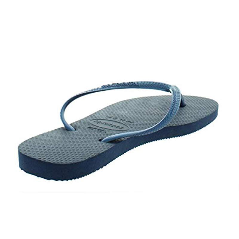 a696d8ec3 Havaianas - Blue Slim Sandal - Lyst. View fullscreen