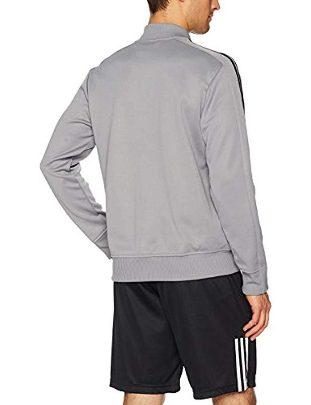 adidas Synthetic Men's Squad Id Track Jacket in Grey for Men