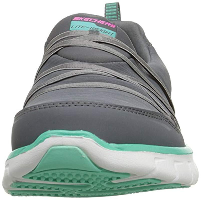 Synergy-Scene Stealer, Zapatillas de Deporte para Mujer Skechers