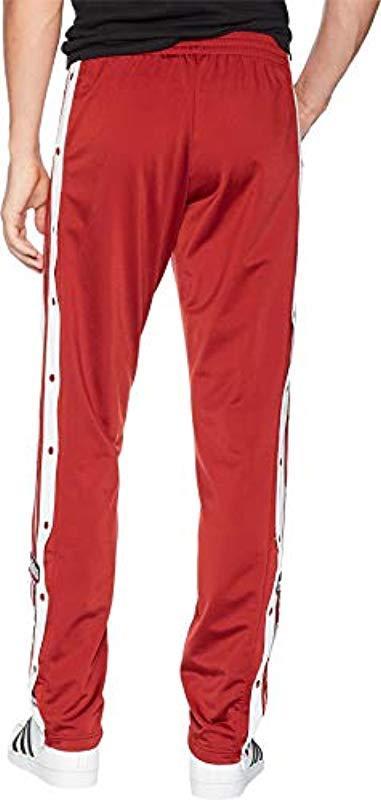red adidas pants amazon