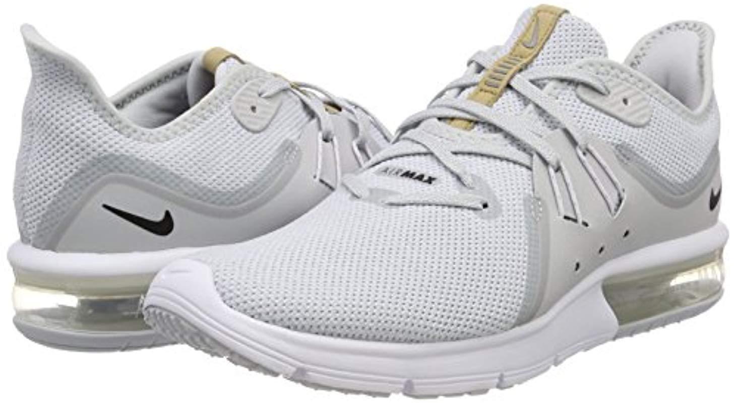 Air MAX Sequent 3, Zapatillas de Gimnasia para Hombre Nike de hombre