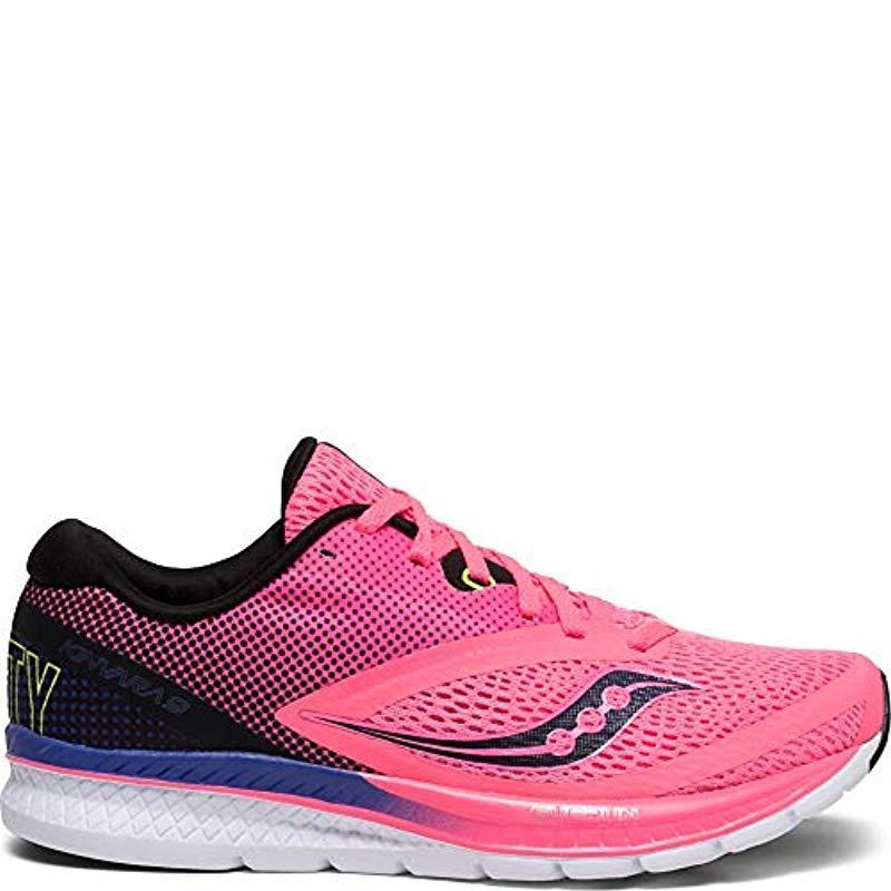 Saucony Kinvara 9 Running Shoe in Pink