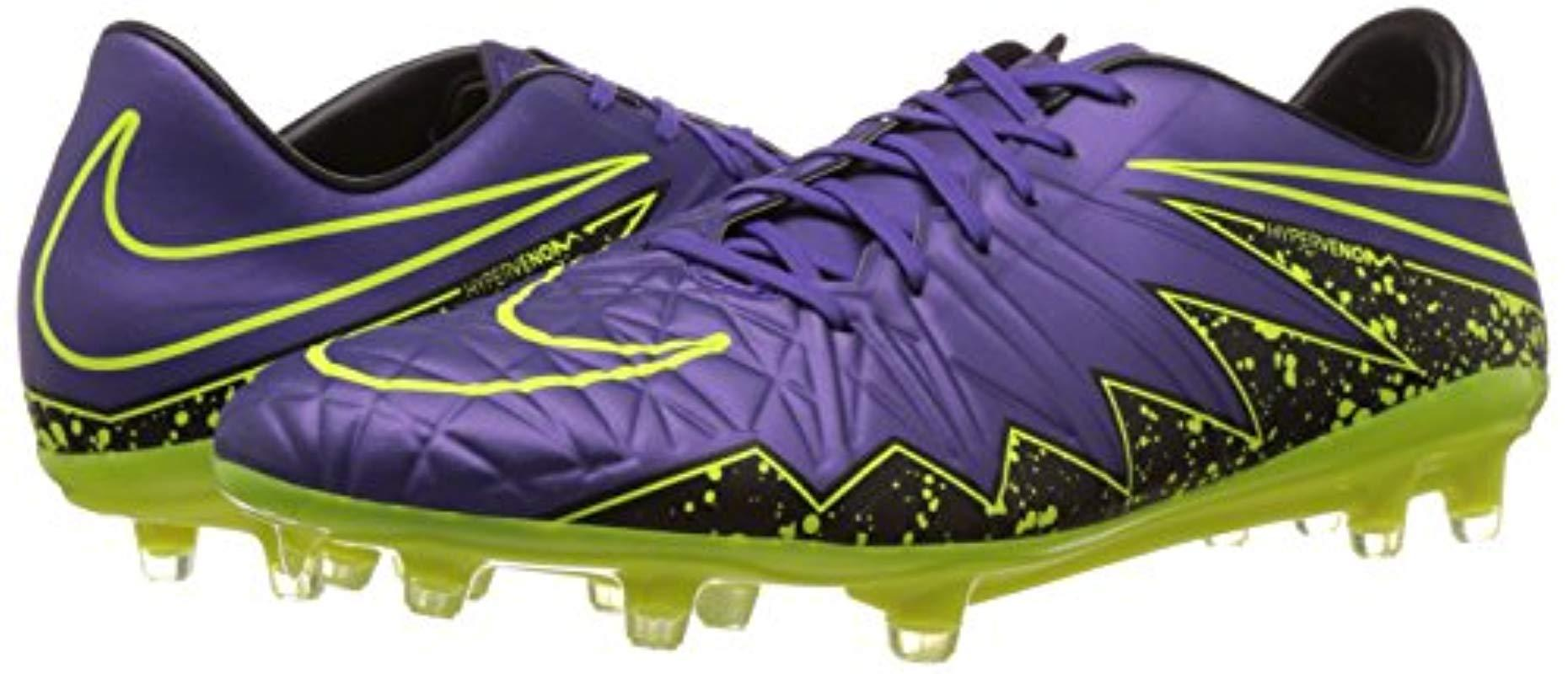 Desbordamiento Temeridad Sombreado  Nike Hypervenom Phinish Fg Football Boots in Purple Purple Yellow (Purple)  for Men - Lyst