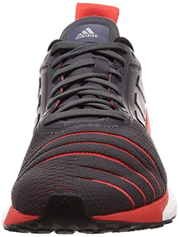 860ad3f5c0239 adidas Solar Glide M Competition Running Shoes in Gray for Men - Lyst