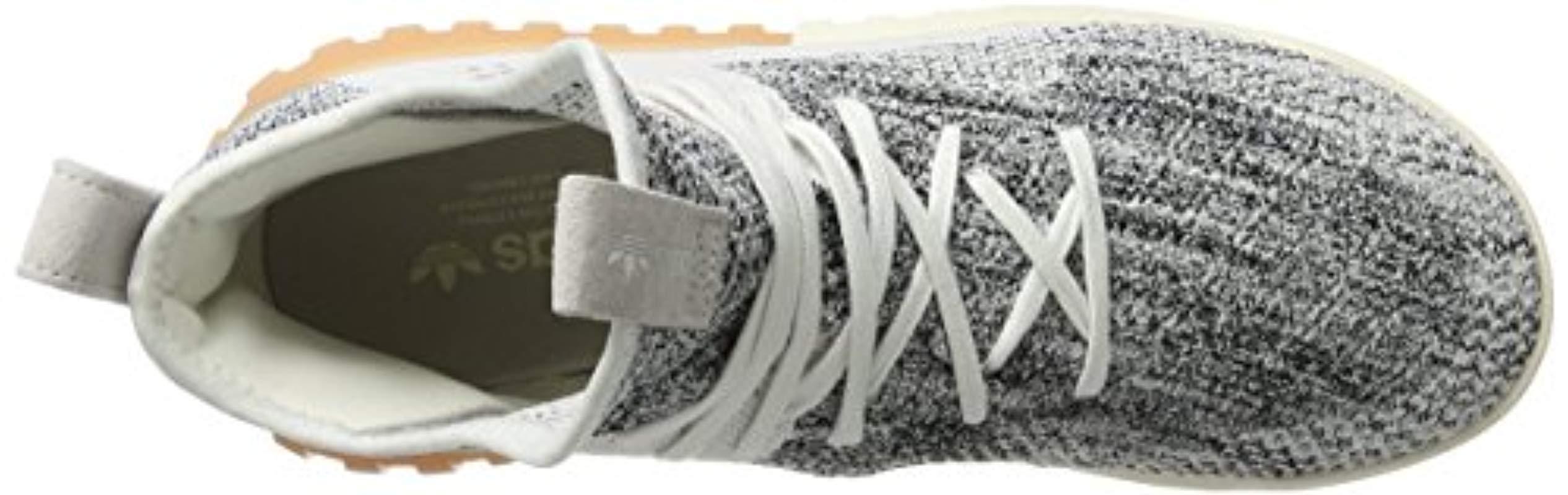adidas Tubular X Primeknit High-top Trainers in Grey (Grey) for Men