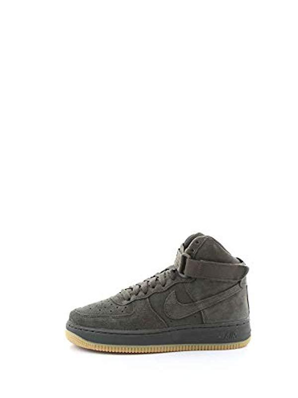 Nike Air Force 1 High Lv8 (gs) Fitness Shoes, Multicolour