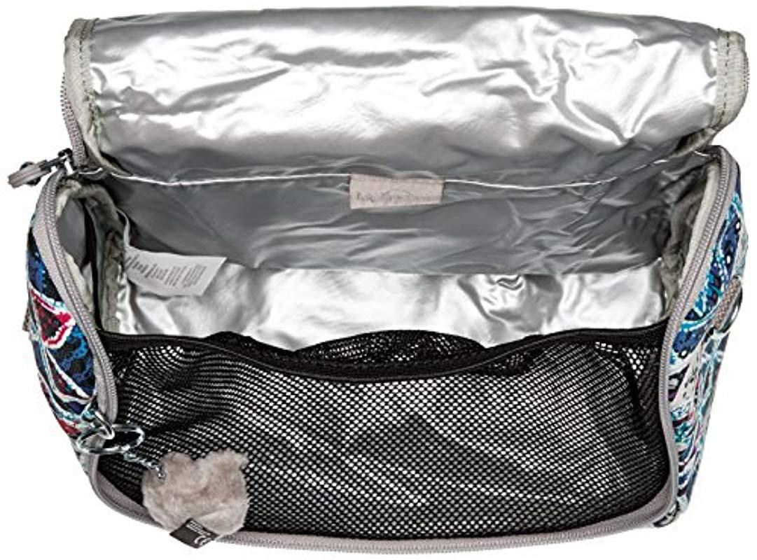 Kipling Cotton Kichirou Printed Insulated Lunch Bag