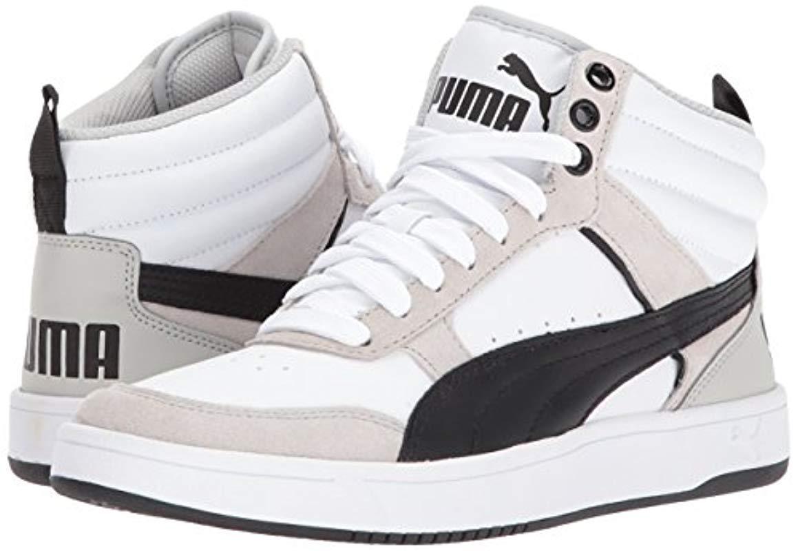 PUMA Rubber Rebound Street V2 Sneaker in White for Men - Lyst