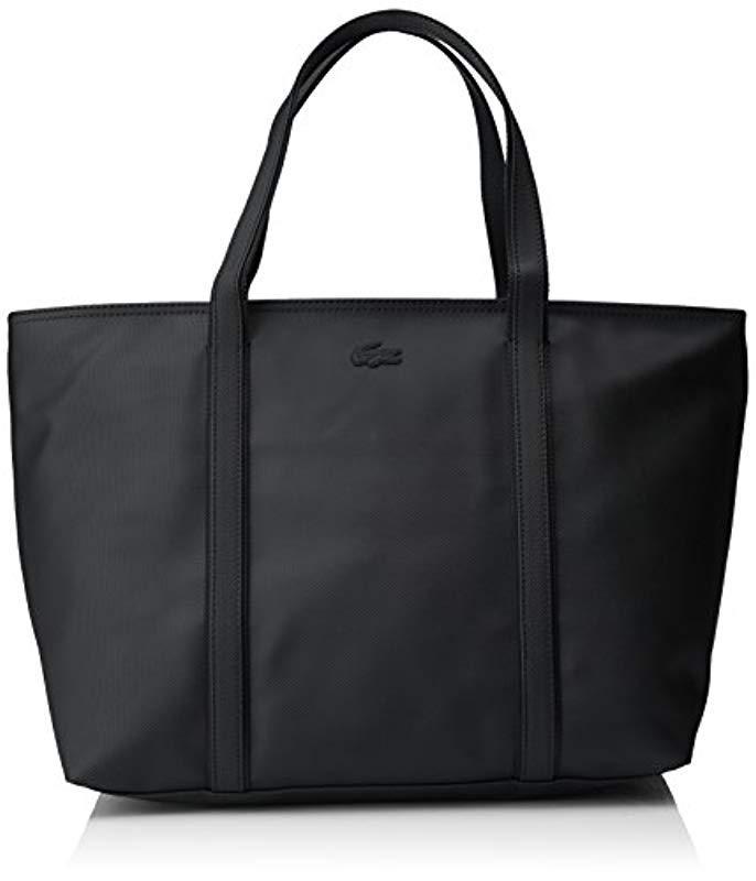 31cf6850dce8c2 Lacoste Classic Cross-body Bag in Black - Lyst