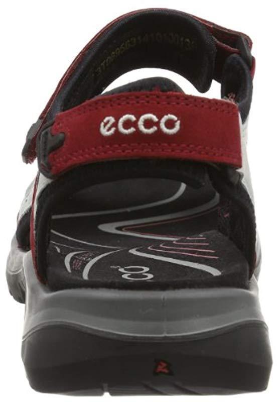 1711c5879cd70b Ecco - Schuhe Damen Sandalen Trekkingsandalen Offroad Rot Chili Red  06956355287 - Lyst. View fullscreen