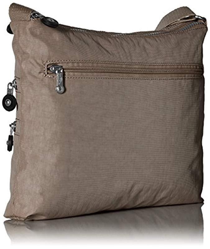 Kipling Alvar Solid Crossbody Bag in Soft Earthy Beige (Brown)