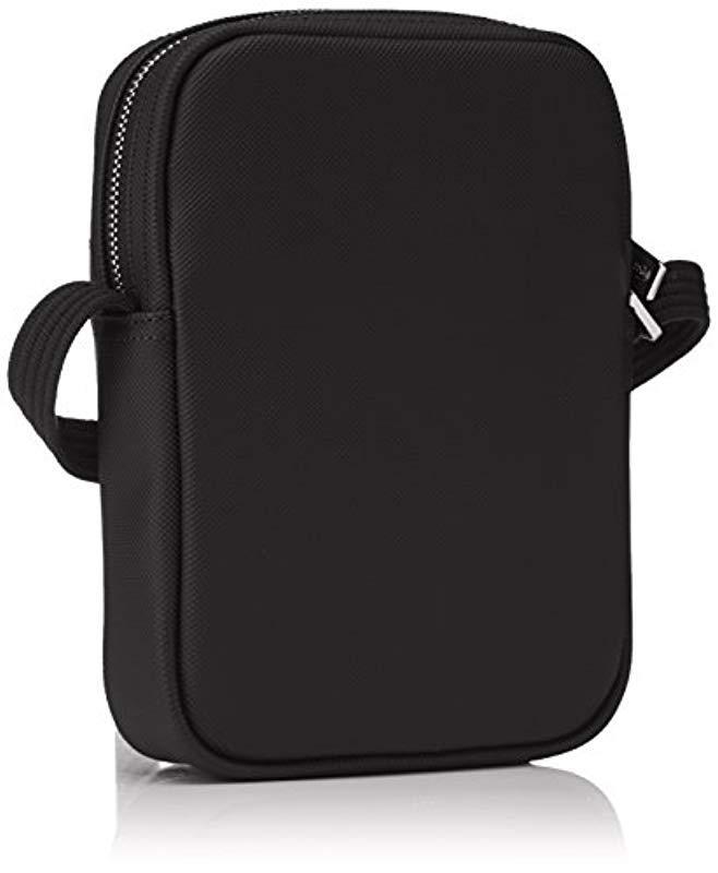 66b6c0ba8e Sac Homme Access Premium, Porté Épaule Lacoste pour homme en coloris Noir -  Lyst