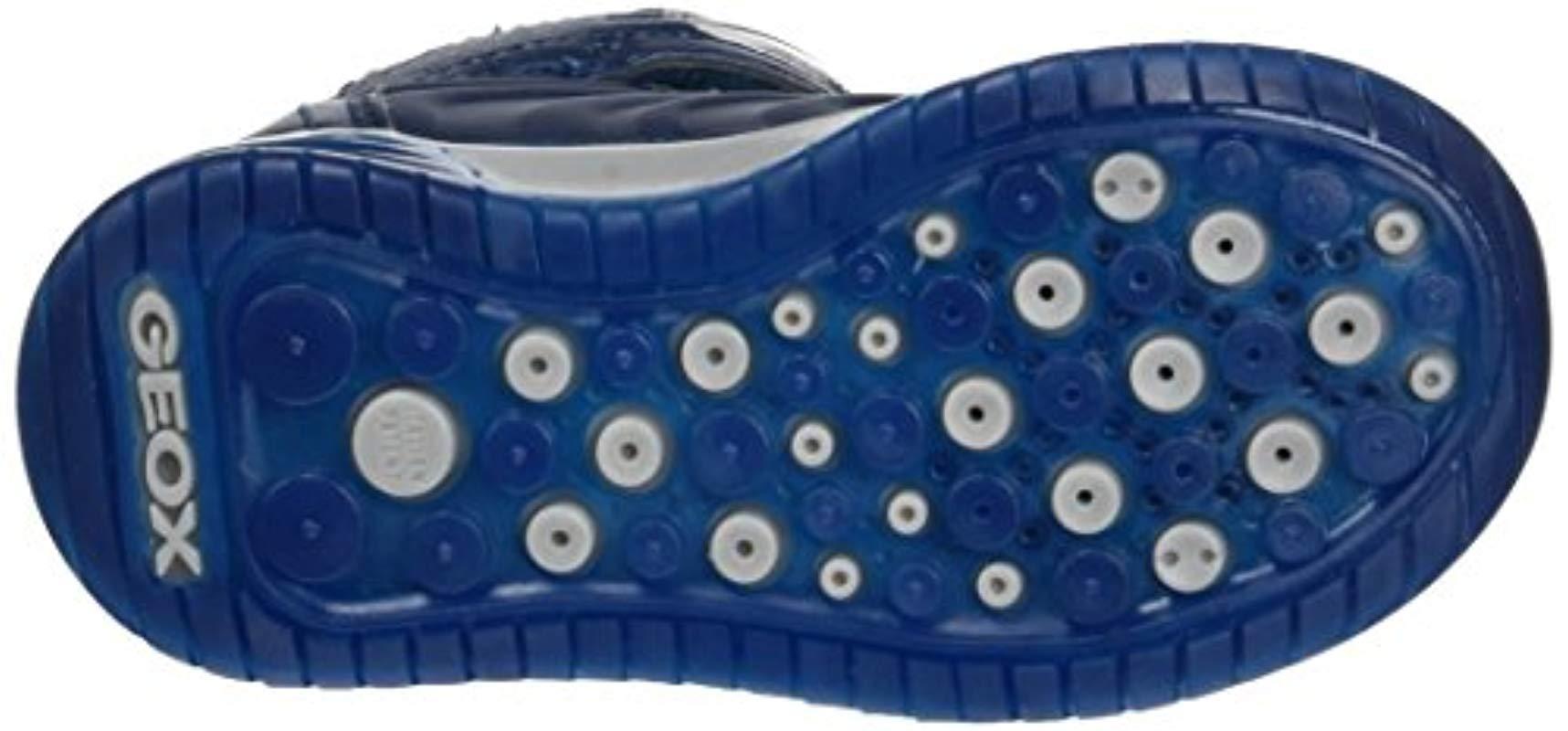 J Argonat B, Zapatillas Altas para Niños Geox de Tejido sintético de color Azul para hombre
