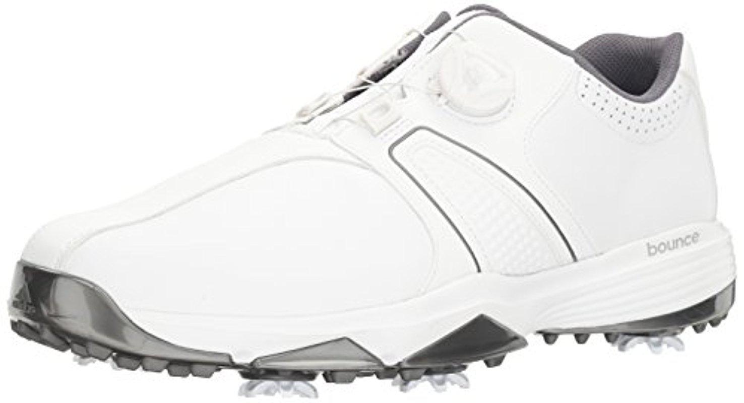 adidas. Men's White 360 Traxion Boa Golf Shoe