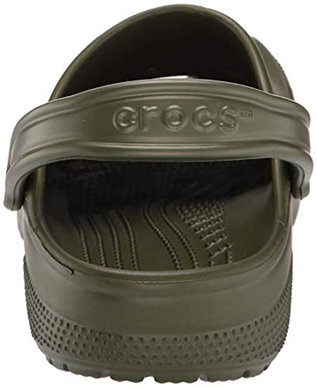 2e077388f Crocs™ Unisex Adults  Classic Clogs in Green for Men - Save 7% - Lyst