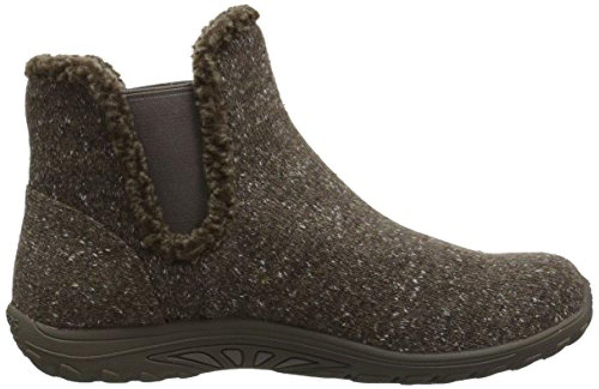 skechers reggae fest speckled chelsea boot