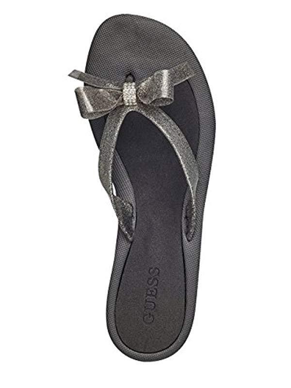 55aaf72b097aaa Guess - Multicolor Tutu9 Flat Sandal - Lyst. View fullscreen