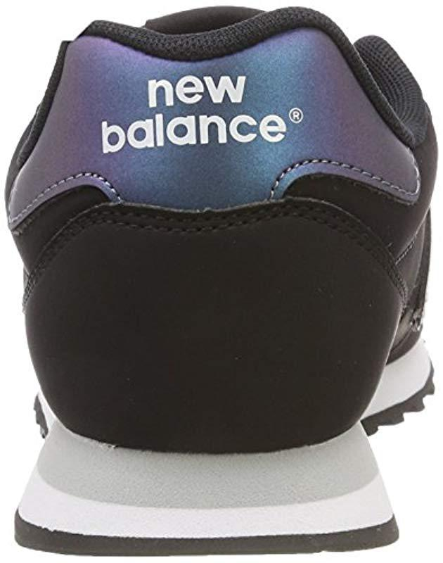 Black Sneakers Lyst Balance in 500 Low top New hsCxBQrtd