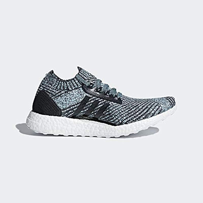 6208ff1d8ae Adidas Originals - Blue Ultraboost X Parley Running Shoe - Lyst. View  fullscreen