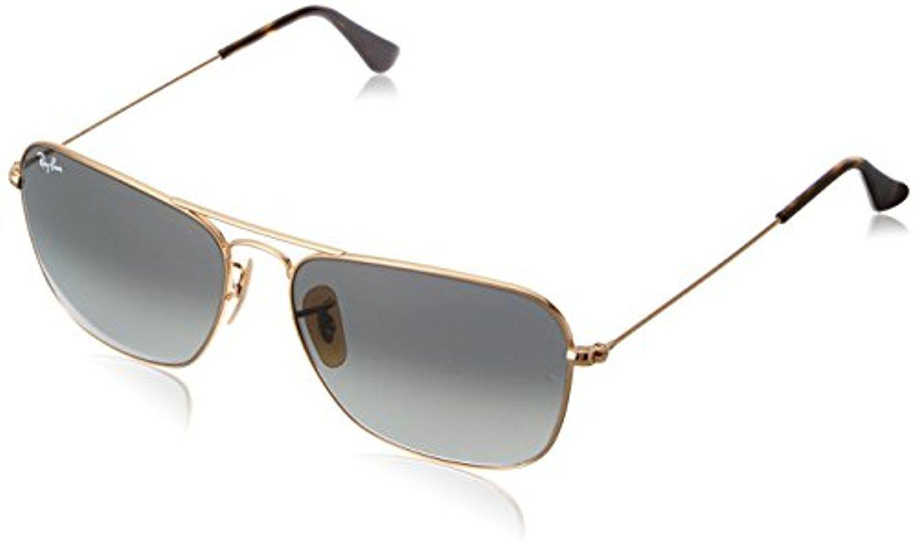 5d8fa3f0e1 ... inexpensive ray ban. mens metallic rb3136 caravan sunglasses 626c7 bf73d