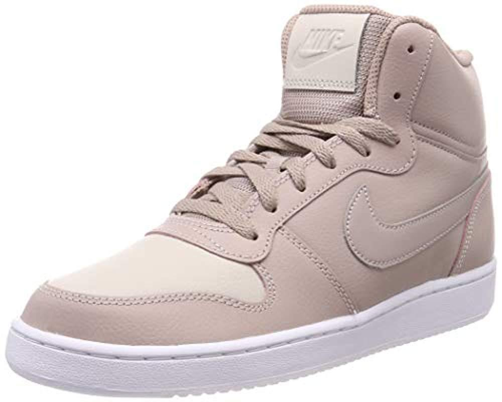 7a1ac672241754 Nike Wmns Ebernon Mid Basketball Shoes in Natural - Save 12% - Lyst