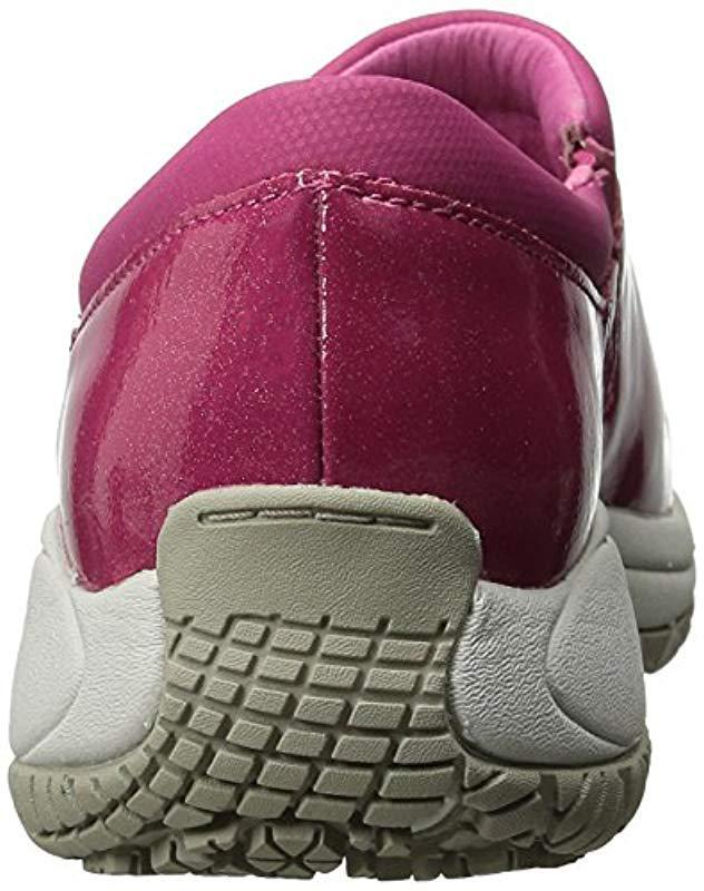 36ce989a Merrell - Purple Encore Moc Pro Shine Slip-resistant Work Shoe - Lyst