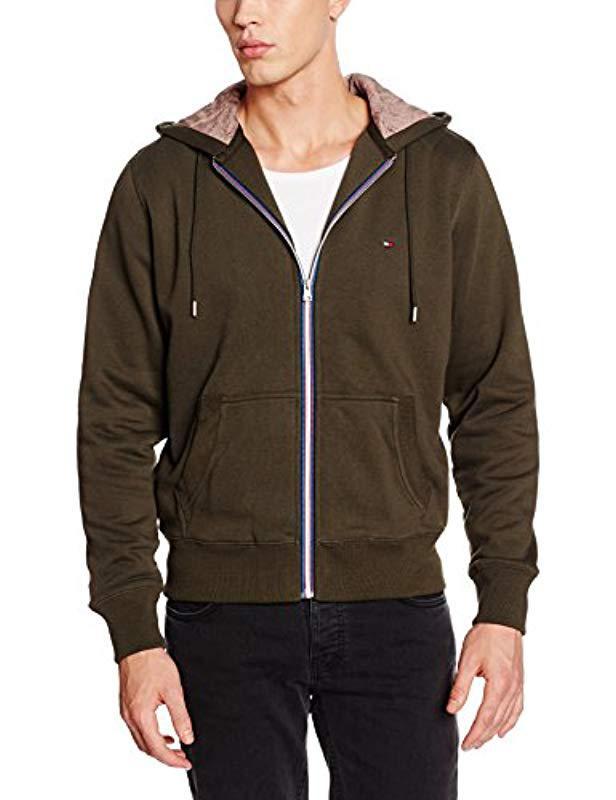 e4716b40e1c65 Tommy Hilfiger Sasha Hdd Z-thru L s Vf Track Jacket in Green for Men ...