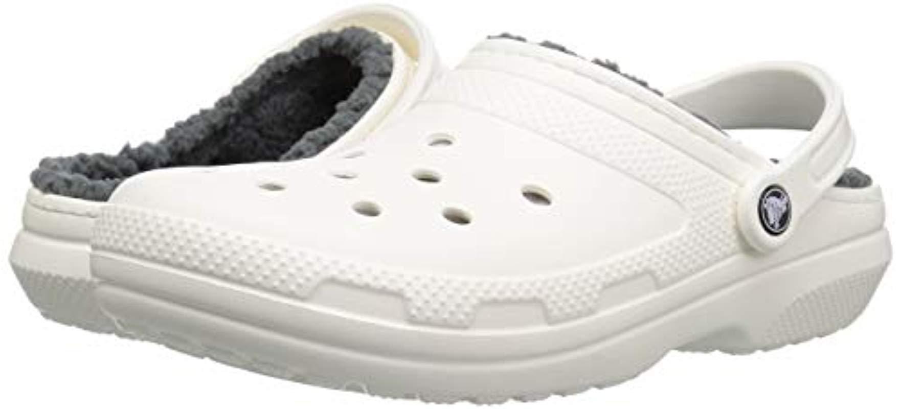 fuzzy crocs white Online shopping has