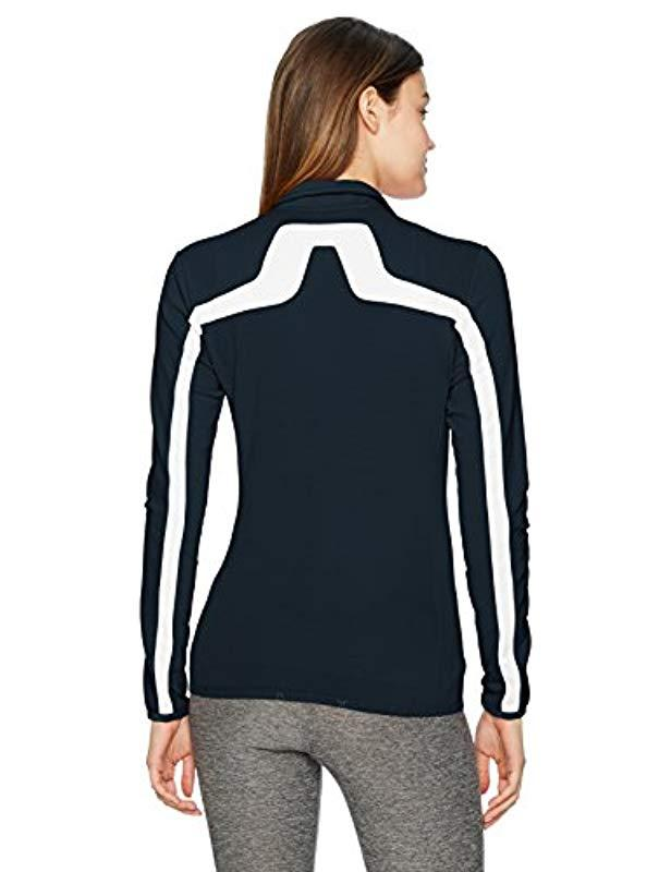 J.Lindeberg Womens W Jarvis Jacket Brushed Fieldsensor