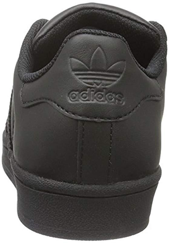 uk availability 11cad c847e Adidas - Black Originals Superstar Foundation Trainers for Men - Lyst. View  fullscreen