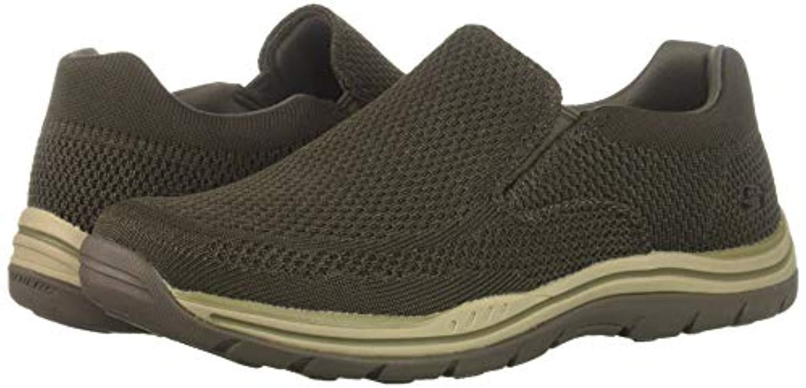 Skechers Expected Gomel Driving Style Loafer, Olbr, 10.5